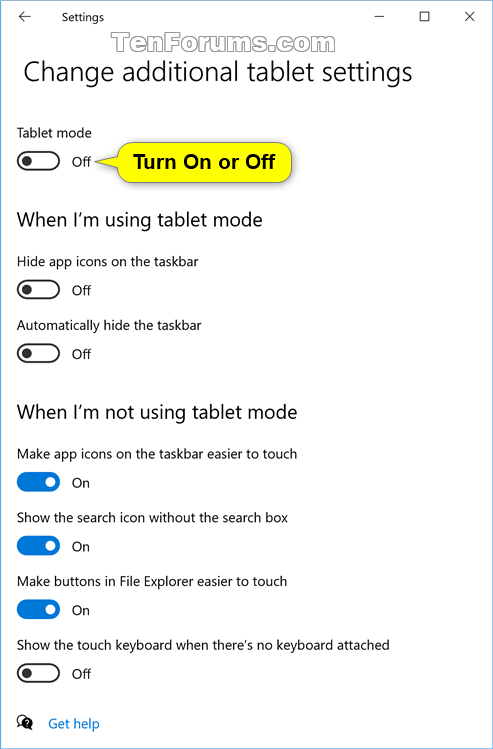 Turn On or Off Tablet Mode in Windows 10-tablet_mode_settings-2.png