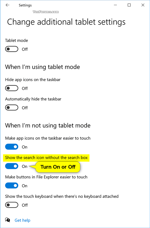 Turn On or Off Search Icon without Search Box for Windows 10 2in1 PC-tablet_mode_settings-2.png