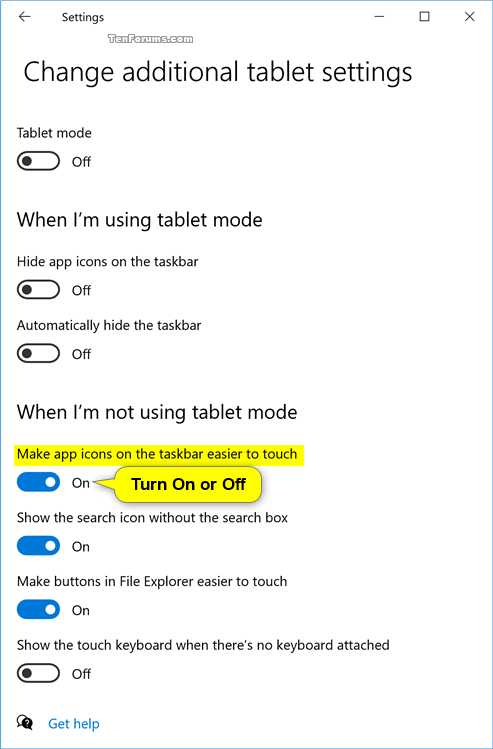 Turn On or Off Taskbar Icons Easier to Touch for Windows 10 2in1 PC-tablet_mode_settings-2.png