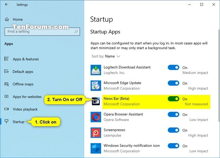 How to Enable or Disable Run News Bar at Startup in Windows 10-news_bar_run_at_startup_settings.jpg