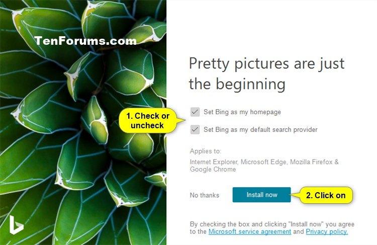 How To Use Bing Wallpaper App To Change Windows 10 Desktop Background Tutorials