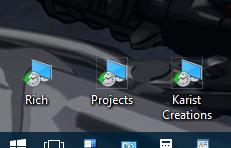how to change arrow in windows 10