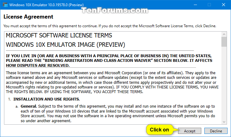 How to Install Windows 10X Dual Screen Emulator in Windows 10-microsoft_emulator_manager_eula.png