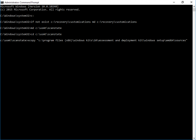 Create Provisioning Package in Windows 10-copyscanstate_1_a.png