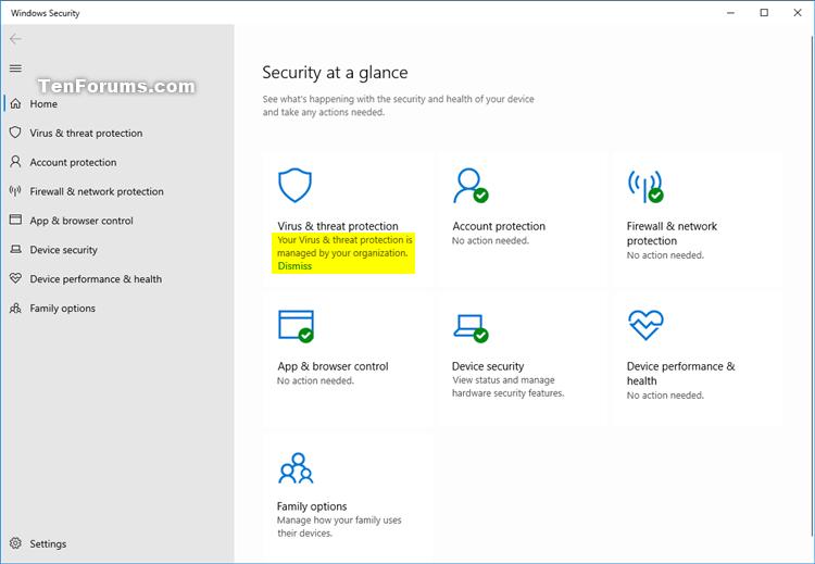 Turn On or Off Windows Defender Antivirus in Windows 10-windows_defender_antivirus_disabled-2.png