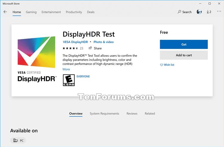 How to Run VESA Certified DisplayHDR Tests on Display in Windows 10-display_hdr_test-1.png
