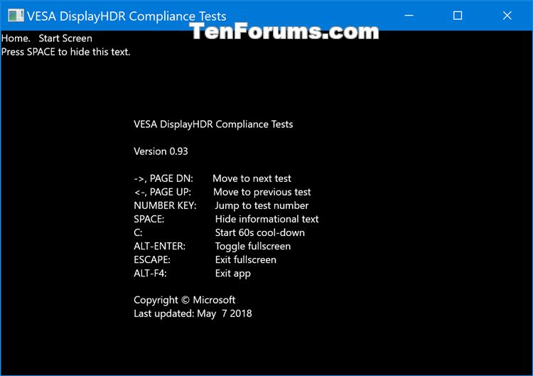 How to Run VESA Certified DisplayHDR Tests on Display in Windows 10-display_hdr_test-2.png