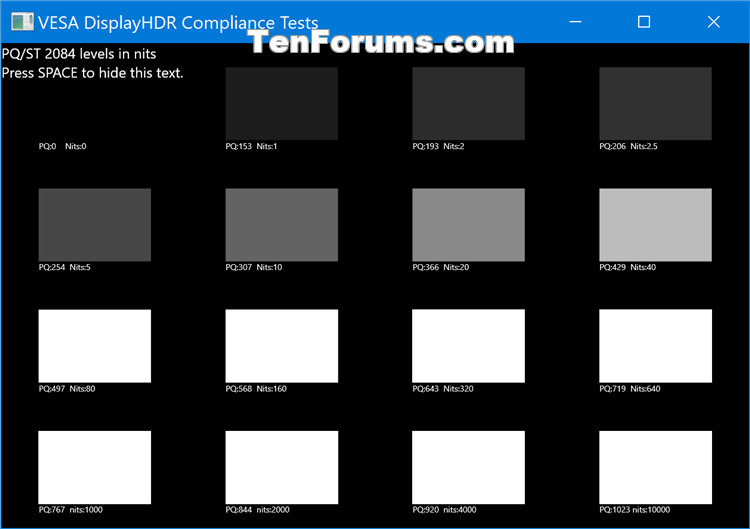 How to Run VESA Certified DisplayHDR Tests on Display in Windows 10-display_hdr_test-6.png