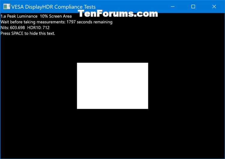 How to Run VESA Certified DisplayHDR Tests on Display in Windows 10-display_hdr_test-8.png