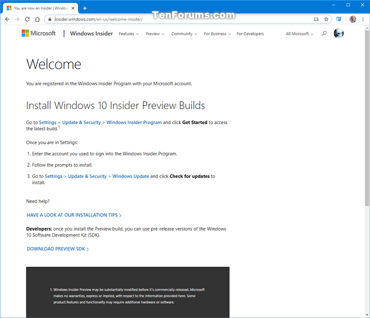 How to Join Windows Insider Program to Register Account-join_windows_insider_program-5.png