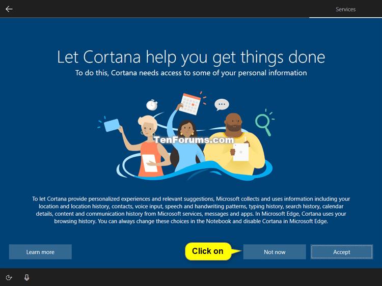 Clean Install Windows 10-cortana.png
