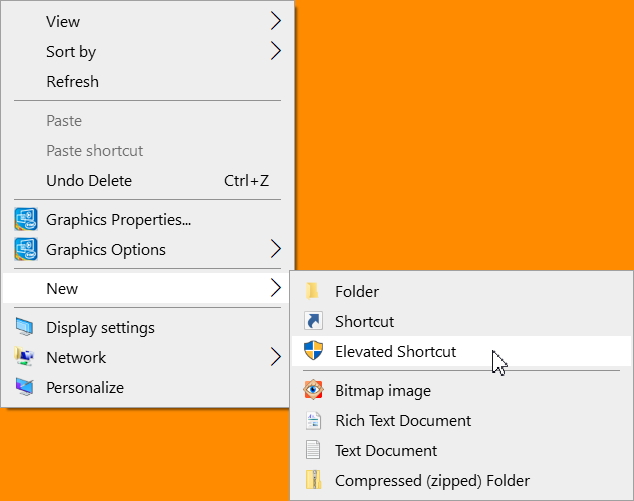 Create Elevated Shortcut without UAC prompt in Windows 10-elevated-shortcut.jpg