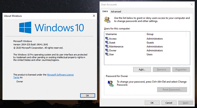 Sign in User Account Automatically at Windows 10 Startup-2004-missing-netplwiz-checkbox.png