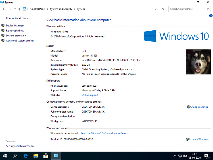 Create media for automated unattended install of Windows 10-success.png