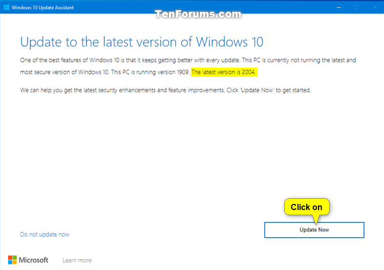Update to Latest Version of Windows 10 using Update Assistant-windows_10_update_assistant-3.png