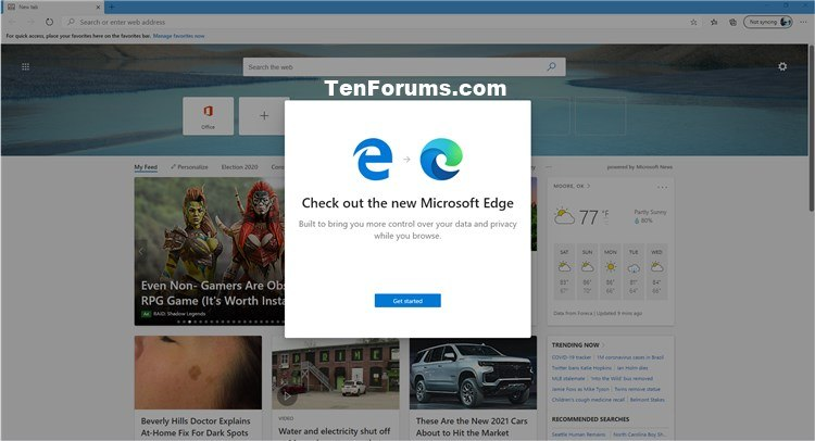 How to Completely Reset Microsoft Edge Chromium to Default in Windows-default_microsoft_edge-1.jpg