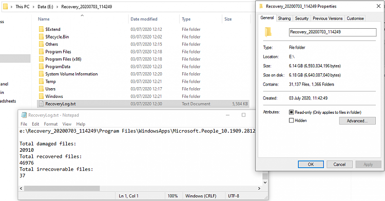 How to Recover Deleted Files with Windows File Recovery in Windows 10-2004-winfr-results.png