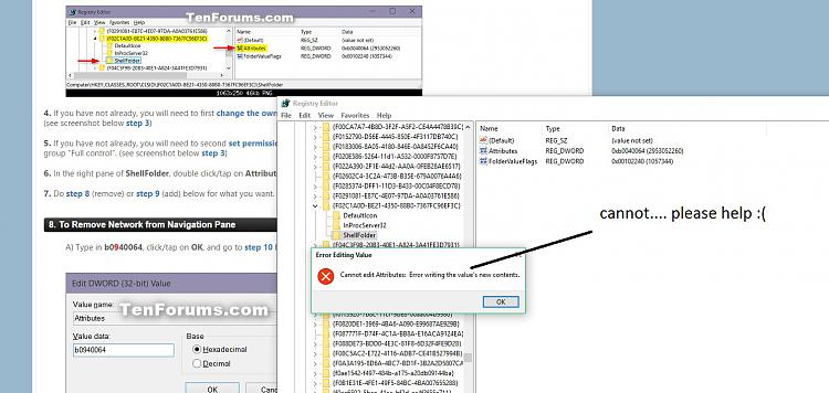 Click image for larger version.  Name:Error Regedit.jpg Views:1518 Size:266.2 KB ID:28665