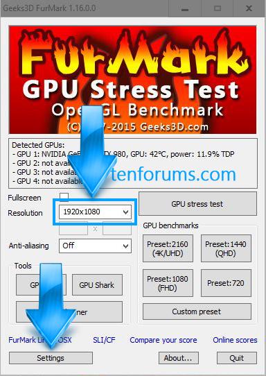 FurMark - GPU Stress Test-click-settings.jpg
