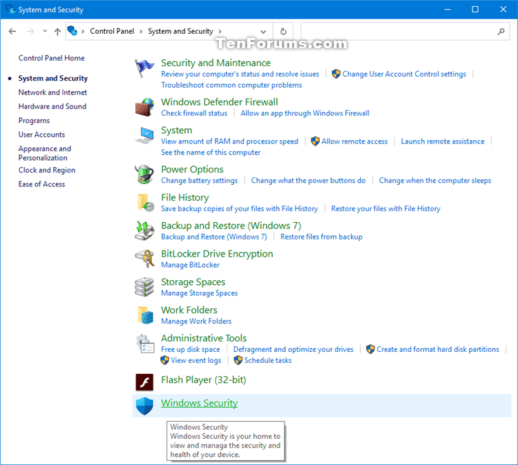 Add Windows Security to Control Panel in Windows 10-windows_security_in_control_panel_category.png