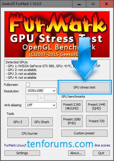 FurMark - GPU Stress Test | Tutorials
