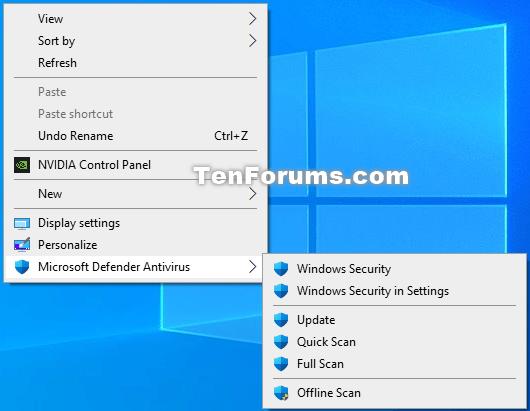Add or Remove Microsoft Defender Antivirus context menu in Windows 10-microsoft_defender_antivirus_context_menu.png