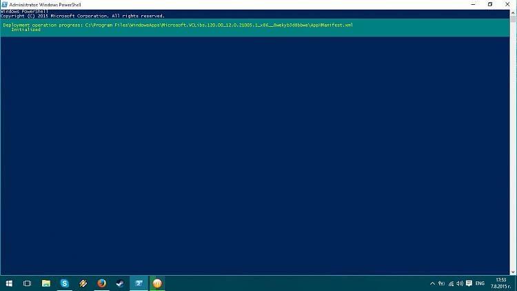 Reinstall and Re-register Apps in Windows 10-powershell.jpg