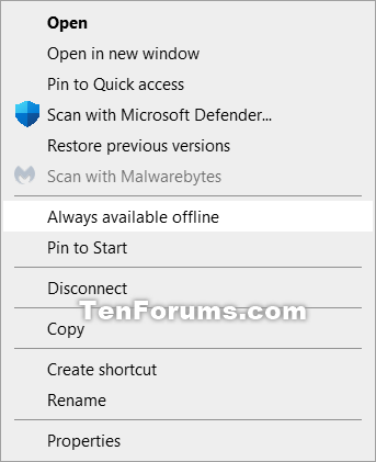 How to Add or Remove Always Available Offline Context Menu in Windows-always_available_offline_context_menu.png