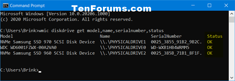 How to Check Drive Health and SMART Status in Windows 10-smart_status_command.png