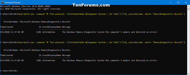 Read Memory Diagnostics Tool Results in Event Viewer in Windows 10-windows_memory_diagnostics_tool_log_command.png