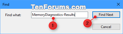 Read Memory Diagnostics Tool Results in Event Viewer in Windows 10-memory_diagnostics_tool_event_log-2.png