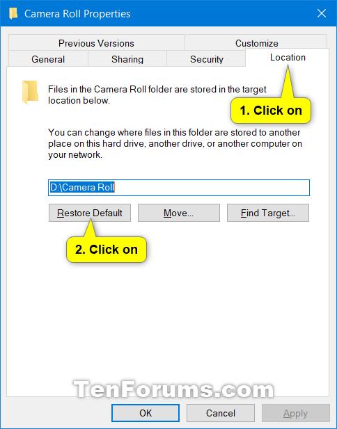 Change or Restore Default Location of Camera Roll Folder in Windows 10-restore_default_location_of_camera_roll_folder-2.png