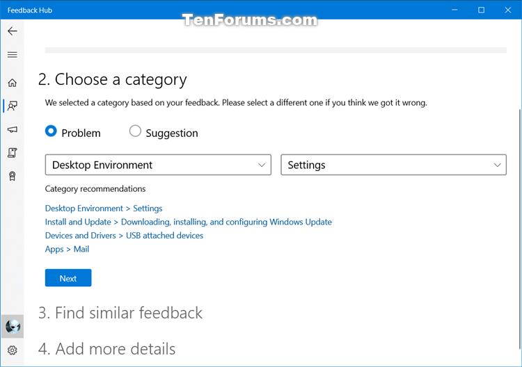 How to Send Feedback to Microsoft with Feedback Hub app in Windows 10-feedback_hub-4.png