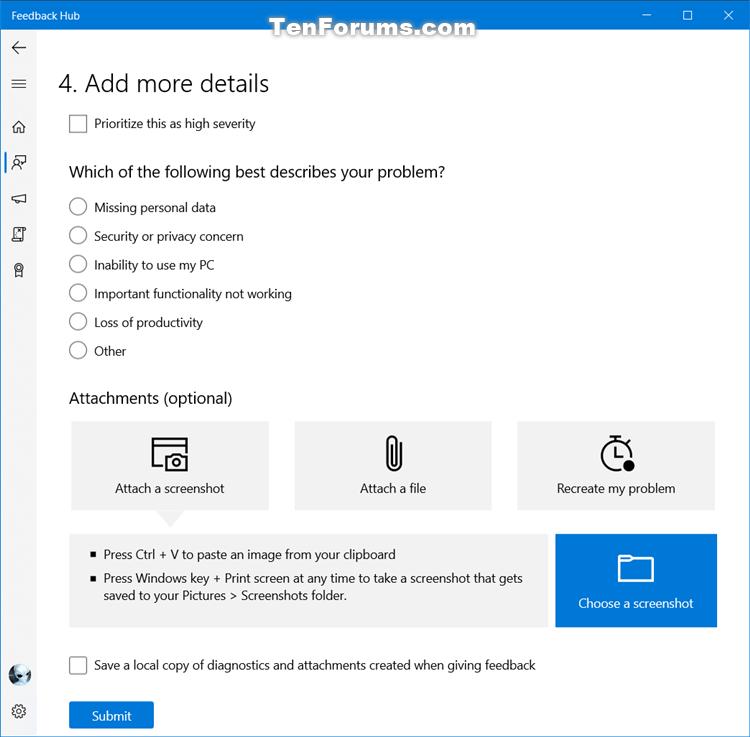 How to Send Feedback to Microsoft with Feedback Hub app in Windows 10-feedback_hub-7.png