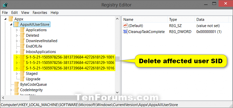 Clear and Reset Store Cache in Windows 10-regedit-1.png