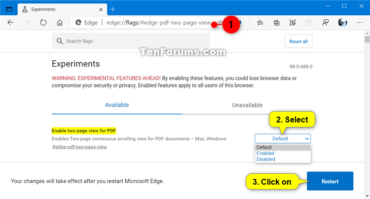 How to Enable Two Page View for PDF in Microsoft Edge Chromium-microsoft_edge_enable_two_page_view_for_pdf.png