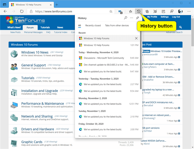 Add or Remove History Button on Toolbar in Microsoft Edge Chromium-microsoft_edge_history_button-1.png