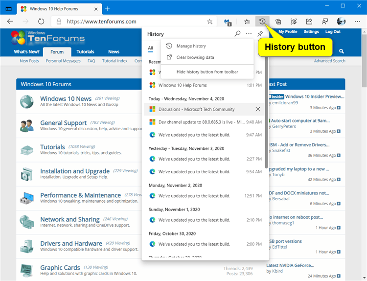 Add or Remove History Button on Toolbar in Microsoft Edge Chromium-microsoft_edge_history_button-2.png