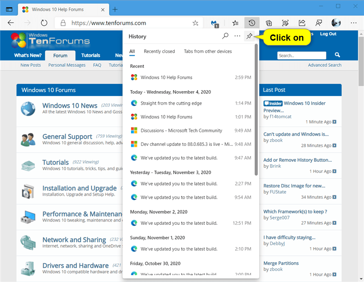 How to Pin or Unpin History Pane in Microsoft Edge Chromium-microsoft_edge_pin_history-2.png