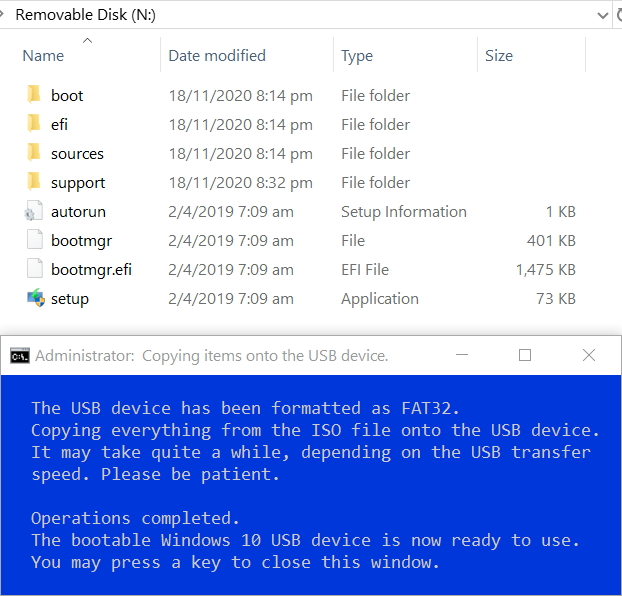 Create Bootable USB Flash Drive to Install Windows 10-5.-finished.jpg