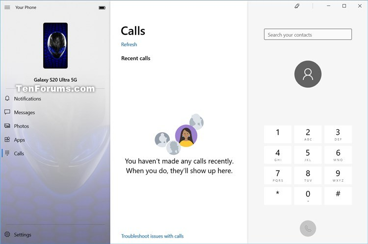 Turn On and Setup or Turn Off Calls in Your Phone app on Windows 10-your_phone_calls-connect-2.jpg