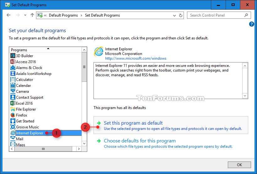 Open Internet Explorer in Windows 10 | Tutorials