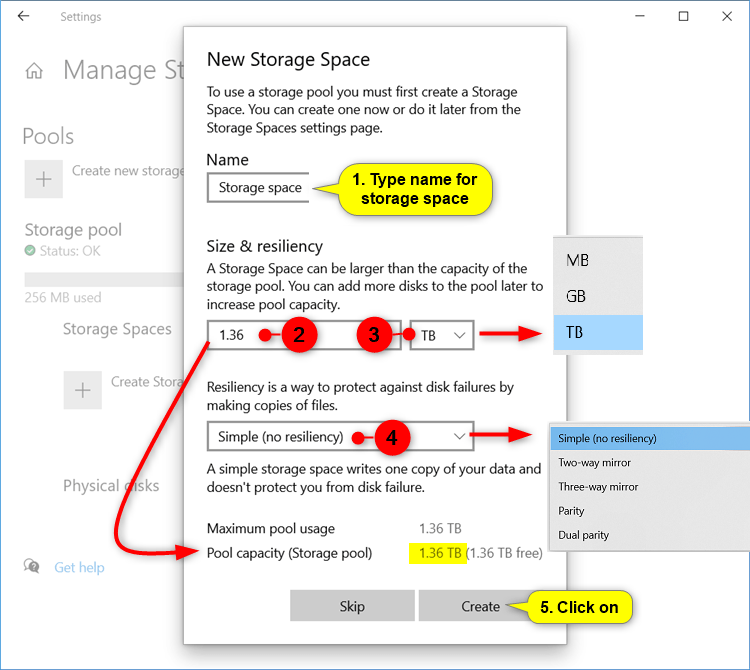 Create Storage Space for Storage Pool in Windows 10-create_storage_space_in_settings-3.png