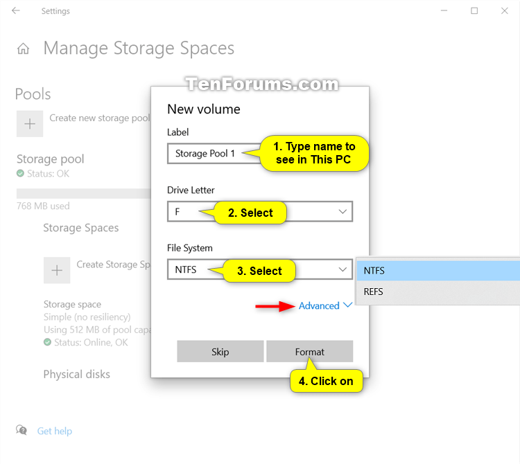 Create Storage Space for Storage Pool in Windows 10-create_storage_space_in_settings-4.png