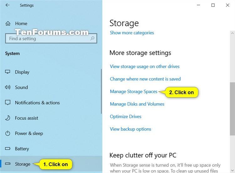 Rename Storage Pool for Storage Spaces in Windows 10-rename_storage_pool_in_settings-1.jpg