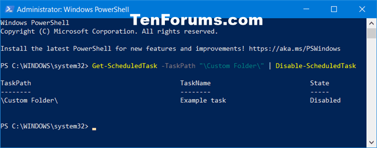 How to Enable or Disable Scheduled Task in Windows 10-disable_all_scheduled_tasks_in_folder_in_powershell.png