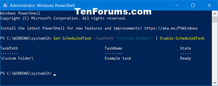 How to Enable or Disable Scheduled Task in Windows 10-enable_all_scheduled_tasks_in_folder_in_powershell.png
