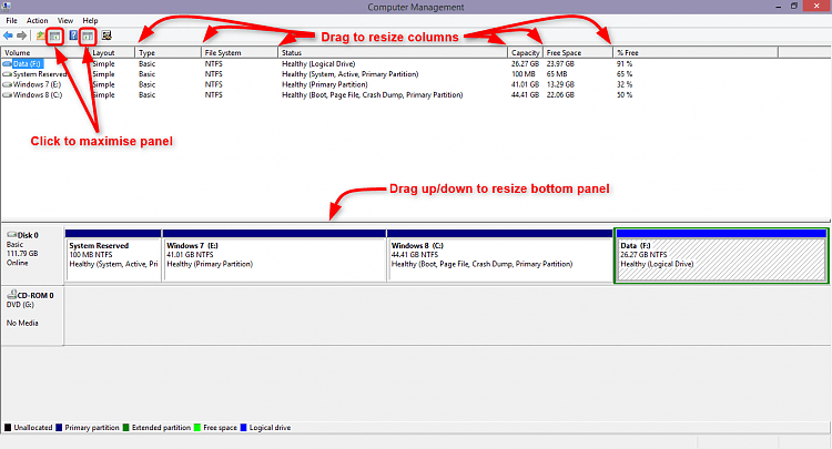 How to Post a Screenshot of Disk Management-capture.png