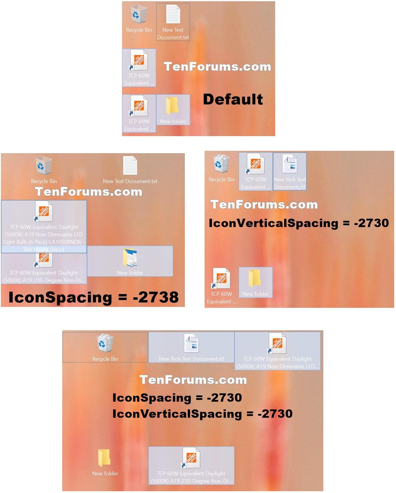 how to change default desktop icons in windows 10