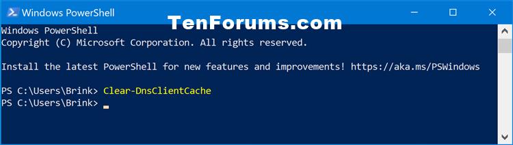 Flush DNS Resolver Cache in Windows 10-clear-dnsclientcache.png